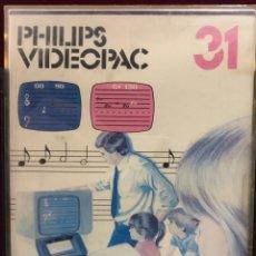 Videojuegos y Consolas: JUEGO PHILIPS VIDEOPAC NÚMERO 31. Lote 151381368