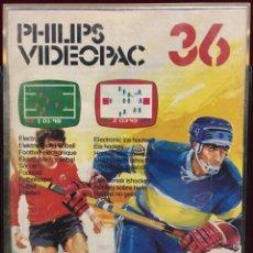Videojuegos y Consolas: JUEGO PHILIPS VIDEOPAC NÚMERO 36. Lote 151381597