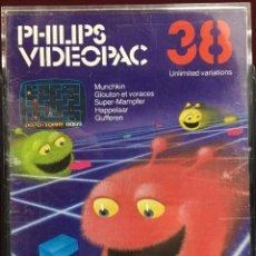 Videojuegos y Consolas: JUEGO PHILIPS VIDEOPAC NÚMERO 38. Lote 151382625