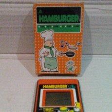 Videojuegos y Consolas: HAMBURGER LCD LIWACO NO GAME&WATCH GAME & WATCH NINTENDO. Lote 151388146