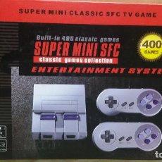Videojuegos y Consolas: CONSOLA DE MESA SUPER MINI SFC. Lote 153555740