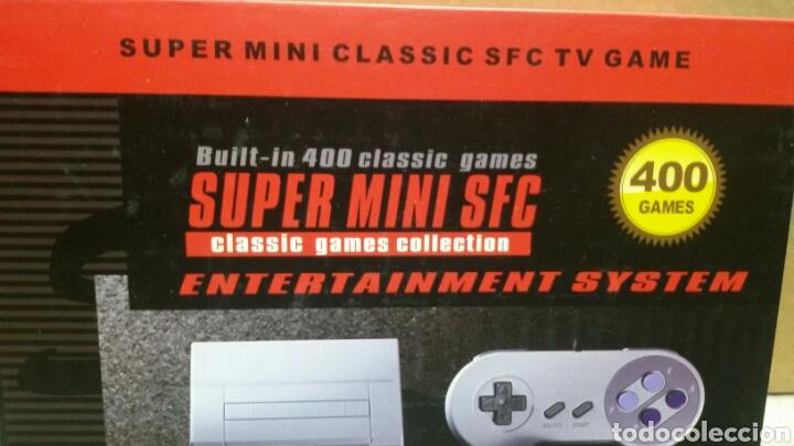 Videojuegos y Consolas: consola de mesa super mini sfc - Foto 2 - 153555740