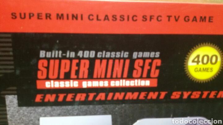 Videojuegos y Consolas: consola de mesa super mini sfc - Foto 3 - 153555740
