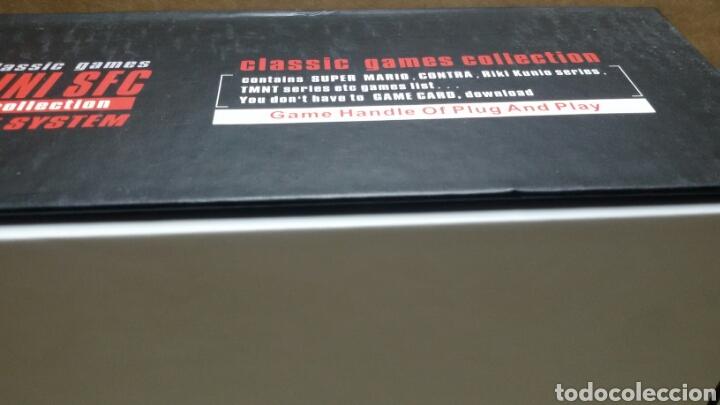 Videojuegos y Consolas: consola de mesa super mini sfc - Foto 5 - 153555740