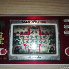 Videojuegos y Consolas: CONSOLA GAME WATCH MARIOS CEMENT FACTORY. Lote 151902444
