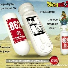 Videojuegos y Consolas: BANDAI – DRAGON BALL Z – BATTLE CAPSULE ELECTRONIQUE (INCLUYE FIGURA SON GOKU). Lote 153075130