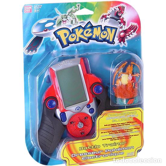 POKEMON BATTLE TRAINER – DRESSEUR POKÉMON ELECTRONIQUE – BANDAI 85700 BY POKEMON (Juguetes - Videojuegos y Consolas - Otros descatalogados)