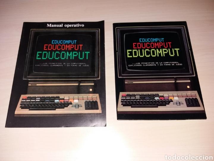 EDUCOMPUT - MANUAL OPERATIVO + JUEGO EXPLICATIVO (Juguetes - Videojuegos y Consolas - Otros descatalogados)