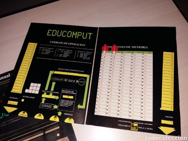 Videojuegos y Consolas: EDUCOMPUT - MANUAL OPERATIVO + JUEGO EXPLICATIVO - Foto 2 - 153578329