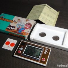 Videojuegos y Consolas: NINTENDO GAME & WATCH TROPICAL FISH TF-104 CON EMBALAJE ORIGINAL - VER VIDEO!!!!!. Lote 153707202