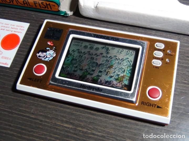 Videojuegos y Consolas: Nintendo Game & Watch tropical fish TF-104 con embalaje original - VER VIDEO!!!!! - Foto 2 - 153707202