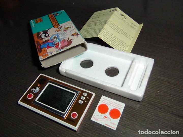 Videojuegos y Consolas: Nintendo Game & Watch tropical fish TF-104 con embalaje original - VER VIDEO!!!!! - Foto 3 - 153707202