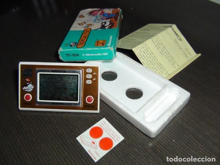 Videojuegos y Consolas: Nintendo Game & Watch tropical fish TF-104 con embalaje original - VER VIDEO!!!!! - Foto 5 - 153707202