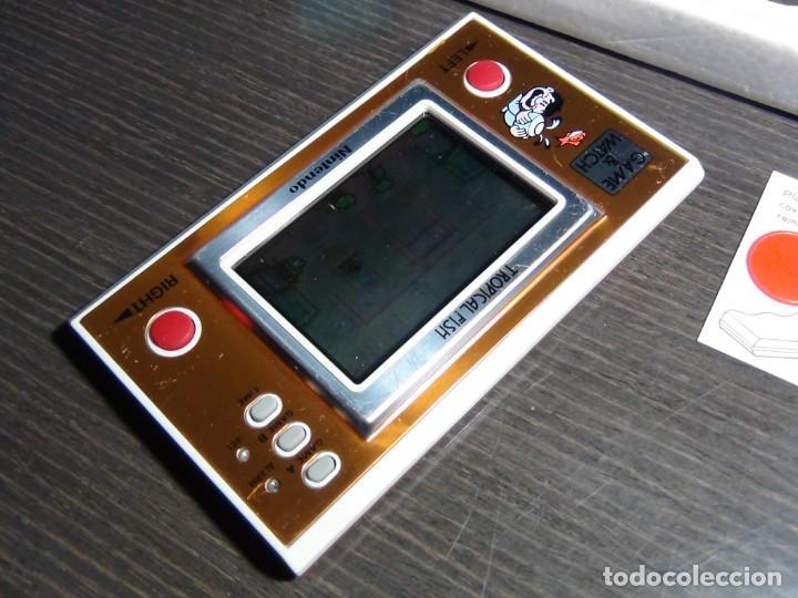 Videojuegos y Consolas: Nintendo Game & Watch tropical fish TF-104 con embalaje original - VER VIDEO!!!!! - Foto 8 - 153707202