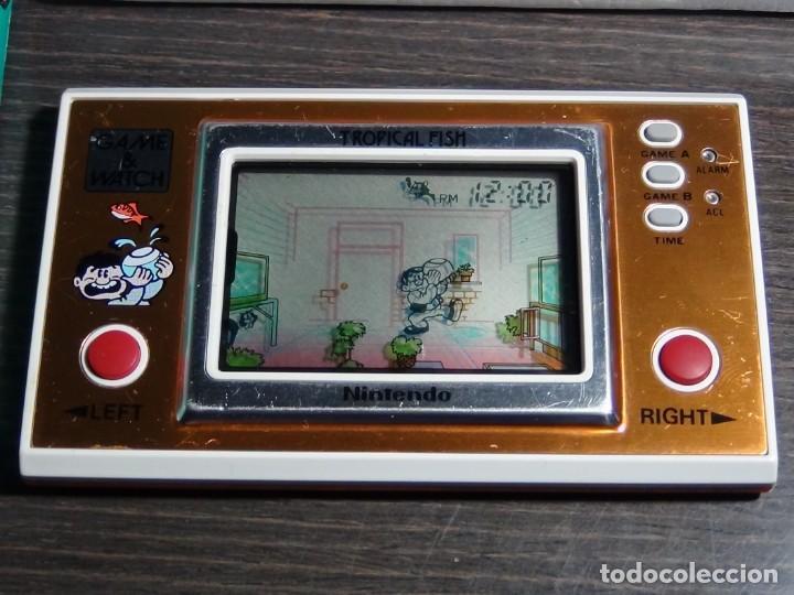 Videojuegos y Consolas: Nintendo Game & Watch tropical fish TF-104 con embalaje original - VER VIDEO!!!!! - Foto 10 - 153707202