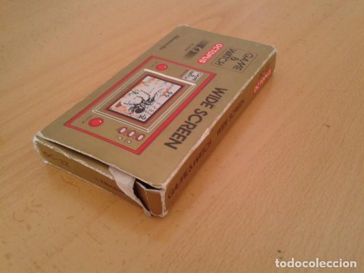 Videojuegos y Consolas: NINTENDO GAME&WATCH WIDESCREEN OCTOPUS OC-22 CAJA COMPLETA BOX+FOAM VER!! R8692 - Foto 4 - 154004770