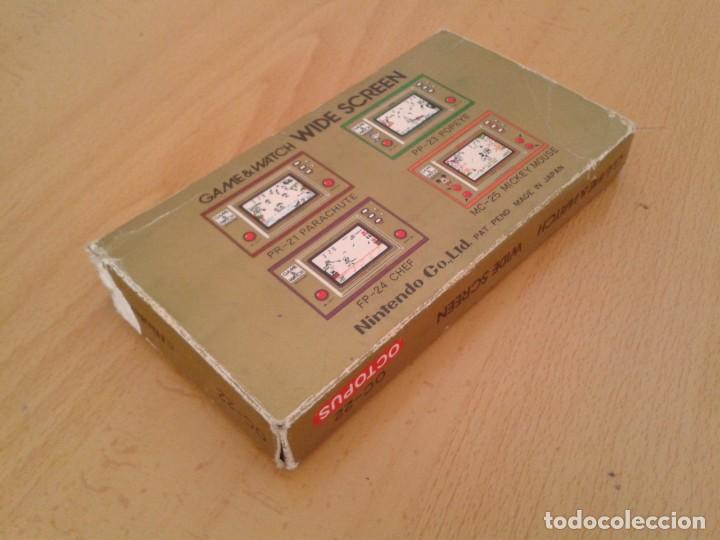 Videojuegos y Consolas: NINTENDO GAME&WATCH WIDESCREEN OCTOPUS OC-22 CAJA COMPLETA BOX+FOAM VER!! R8692 - Foto 5 - 154004770