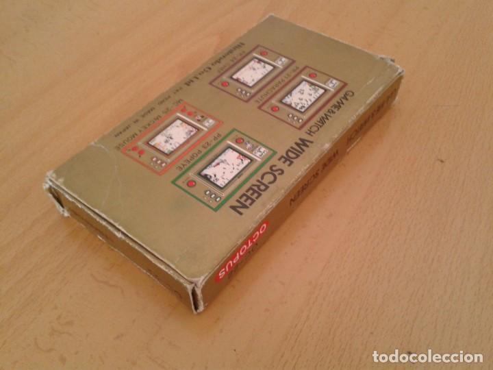Videojuegos y Consolas: NINTENDO GAME&WATCH WIDESCREEN OCTOPUS OC-22 CAJA COMPLETA BOX+FOAM VER!! R8692 - Foto 6 - 154004770
