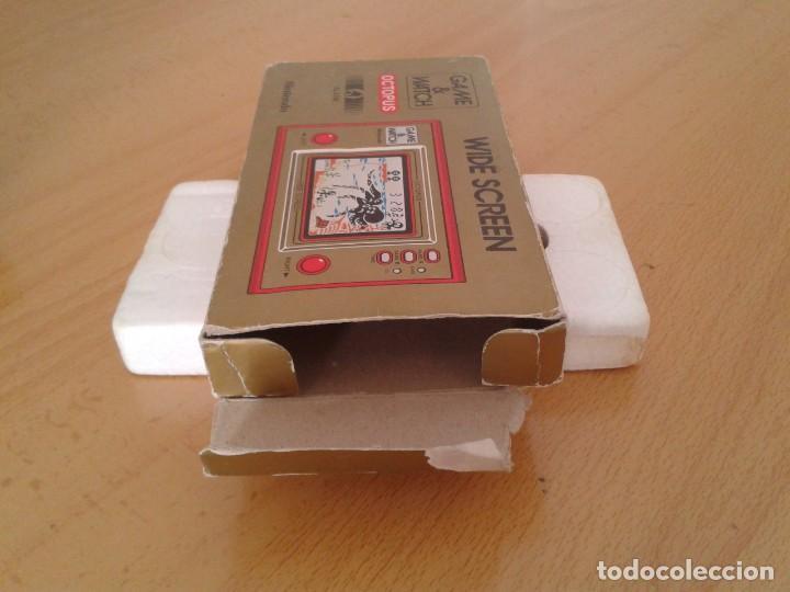 Videojuegos y Consolas: NINTENDO GAME&WATCH WIDESCREEN OCTOPUS OC-22 CAJA COMPLETA BOX+FOAM VER!! R8692 - Foto 7 - 154004770