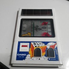 Videojuegos y Consolas: ANTIGUA MAQUINITA TIPO GAME WATCH DE CASIO FIRE PANIC CASIO CG-22. Lote 154158206