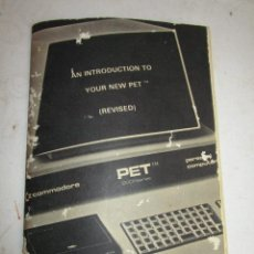 Videojuegos y Consolas: DIFICILISIMO LIBRO INSTRUCCIONES ORDENADOR ANTIGUO COMMODORE PET 2001 SERIES . Lote 154539010