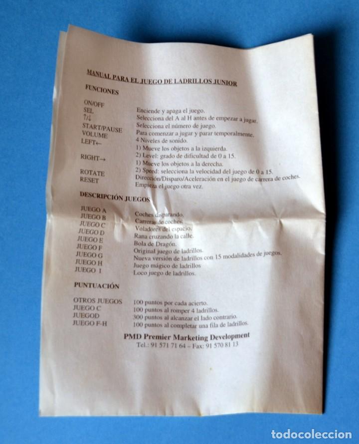 Videojuegos y Consolas: CONSOLA JUEGO DE LADRILLOS JUNIOR - KODAK NUEVA SIN USAR (RARISIMA) - Foto 4 - 155918328