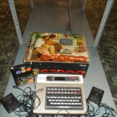 Videojuegos y Consolas: CONSOLA VIDEOJUEGOS CON CAJA VIDEOPAC COMPUTER G7000 PHILIPS AMSTRAD COMMODORE MSX SPECTRUM (SR). Lote 154943958