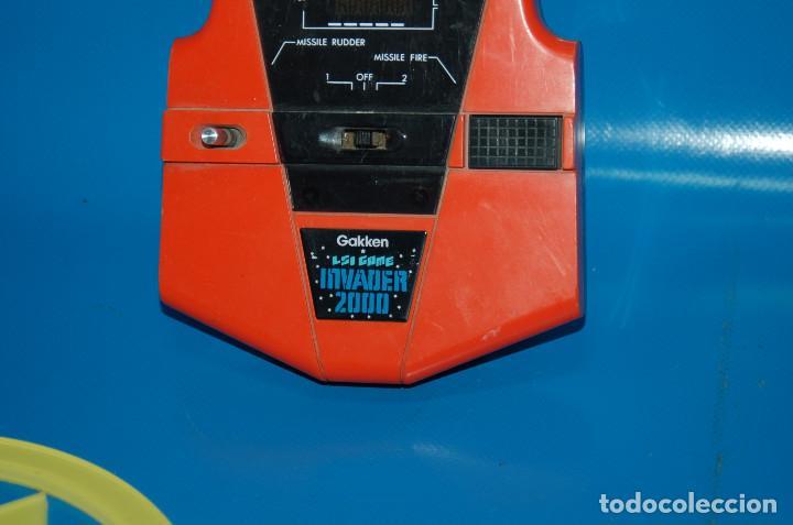 Videojuegos y Consolas: Consola vintage INVADER 2000 - GAKKEN - LSI GAME - MADE IN JAPAN 1982 - Foto 2 - 155894588