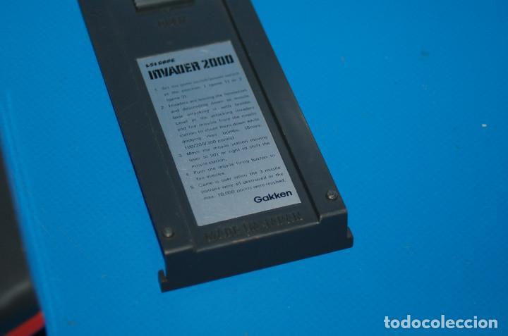 Videojuegos y Consolas: Consola vintage INVADER 2000 - GAKKEN - LSI GAME - MADE IN JAPAN 1982 - Foto 5 - 155894588
