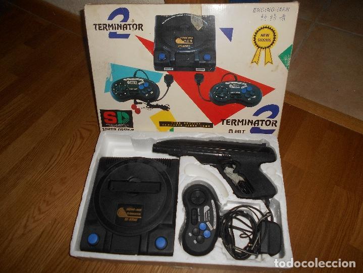 Videojuegos y Consolas: Consola Terminator 2 8 bit nes nasa Clonica Famicom - Foto 5 - 155397742
