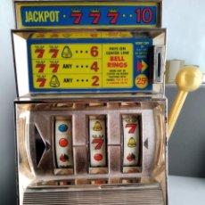 Videojuegos y Consolas: ANTIGUA MAQUINA TRAGAPERRAS CASINO SEVEN DE WACO MADE IN JAPAN. Lote 178665317