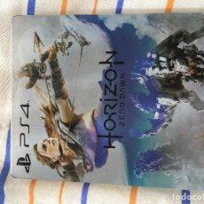 Videojuegos y Consolas: CAJA METALICA STEELBOOK PS3 PS4 PLAYSTATION 3 4 XBOX ONE HORIZON ZERO DAWN KREATEN. Lote 155853066