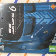 Videojuegos y Consolas: CAJA METALICA STEELBOOK PS3 PS4 PLAYSTATION 3 4 XBOX ONE GRAN TURISMO 6 GT VI KREATEN. Lote 155854154