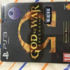 Videojuegos y Consolas: CAJA METALICA STEELBOOK PS3 PS4 PLAYSTATION 3 4 XBOX ONE GOD OF WAR ASCENSION EDICION ESPECIAL. Lote 155857150