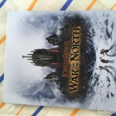 Videojuegos y Consolas: CAJA METALICA STEELBOOK PS3 PS4 PLAYSTATION 3 4 XBOX ONE LORD OF THE RINGS WAR IN THE NORTH KREATEN. Lote 155857702