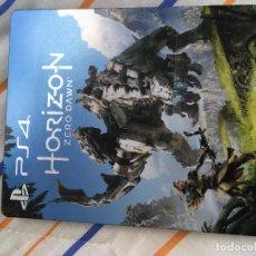Videojuegos y Consolas: CAJA METALICA STEELBOOK PS3 PS4 PLAYSTATION 3 4 XBOX ONE HORIZON ZERO DAWN KREATEN. Lote 155857918