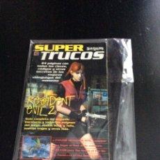 Videojuegos y Consolas: GUÍA SUPER TRUCOS NÚMERO 9: RESIDENT EVIL 2. Lote 155910533