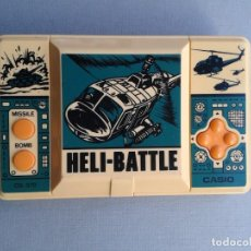 Videojuegos y Consolas: CASIO GAME&WATCH HELI-BATTLE CG-370 EXTRA FINE CONDITION FULL WORKING RARE!! R8840. Lote 155916998