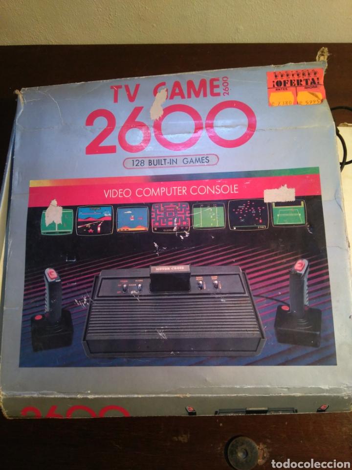 ANTIGUA VIDEO CONSOLA 2600 (Juguetes - Videojuegos y Consolas - Otros descatalogados)