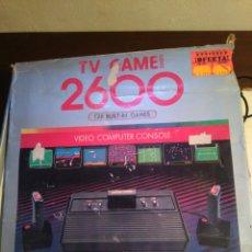 Videojuegos y Consolas: ANTIGUA VIDEO CONSOLA 2600. Lote 157000158