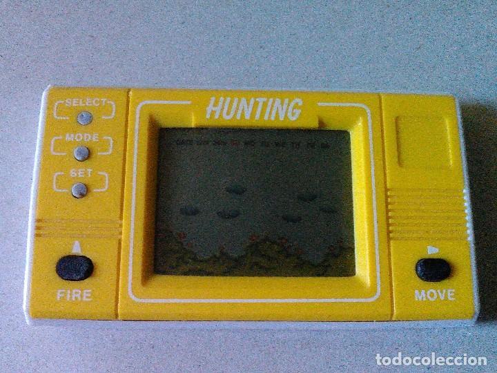 MAQUINA LCD HUNTING. NO GAME & WATCH G&W NINTENDO (Juguetes - Videojuegos y Consolas - Otros descatalogados)