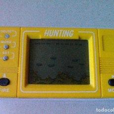 Videojuegos y Consolas: MAQUINA LCD HUNTING. NO GAME & WATCH G&W NINTENDO. Lote 158314918