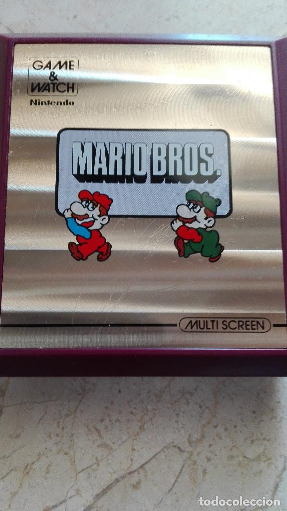 CONSOLA GAME&WATCH NINTENDO MARIO BROS MULTI SCREEN GAME & WATCH (Juguetes - Videojuegos y Consolas - Otros descatalogados)
