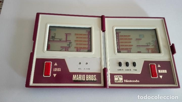 Videojuegos y Consolas: CONSOLA GAME&WATCH NINTENDO MARIO BROS MULTI SCREEN GAME & WATCH - Foto 3 - 158546154