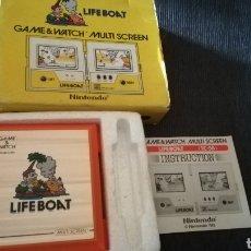 Videojuegos y Consolas: LIFE BOAT GAME & WATCH NINTENDO. 1983. Lote 158946526
