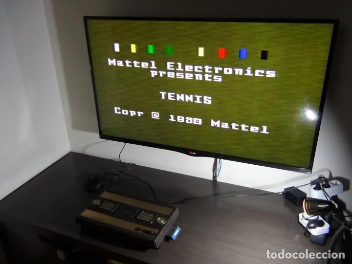 CONSOLA DE MATTEL INTELLIVISION 1979 CON JUEGO FUNCIONANDO...VER VIDEO!!!! (Juguetes - Videojuegos y Consolas - Otros descatalogados)
