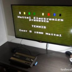 Videojuegos y Consolas: CONSOLA DE MATTEL INTELLIVISION 1979 CON JUEGO FUNCIONANDO...VER VIDEO!!!!. Lote 158979934
