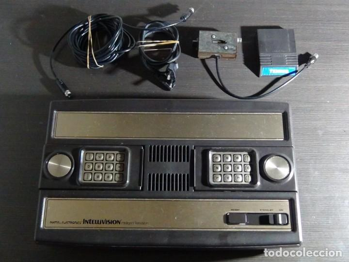 Videojuegos y Consolas: Consola de Mattel Intellivision 1979 con juego Funcionando...VER VIDEO!!!! - Foto 2 - 158979934