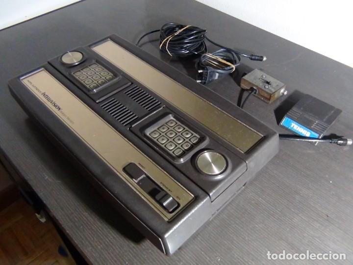 Videojuegos y Consolas: Consola de Mattel Intellivision 1979 con juego Funcionando...VER VIDEO!!!! - Foto 4 - 158979934