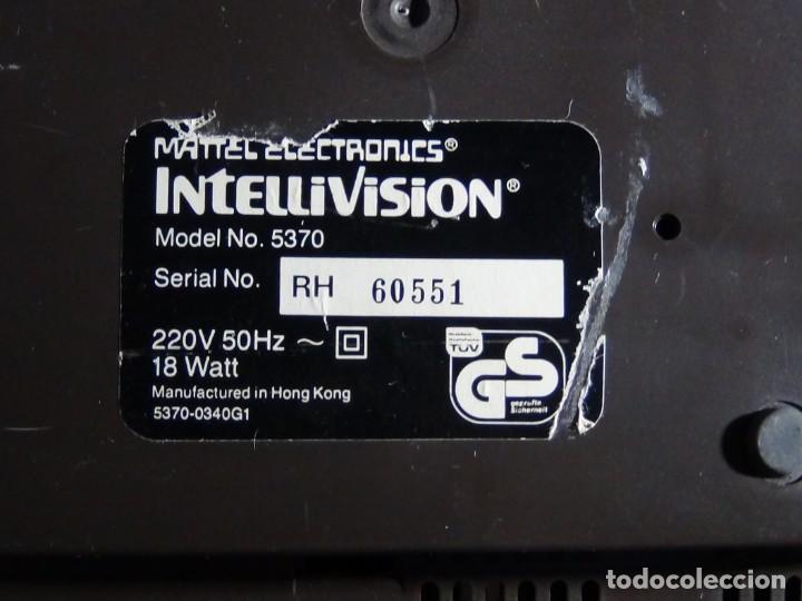 Videojuegos y Consolas: Consola de Mattel Intellivision 1979 con juego Funcionando...VER VIDEO!!!! - Foto 7 - 158979934